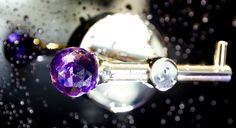 bathroom accessories - collection River with Swarovski Crystal. Feminine Bathroom, Crystal River, Towel Hooks, Bathroom Fixtures, Decoration, Bathroom Accessories, Light Bulb, Swarovski Crystals, Stud Earrings