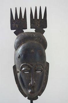 African Baule mask (Côte d'Ivoire)