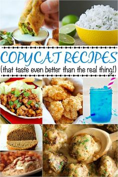 Restaurant Copycat Recipes - Beauty Through Imperfection