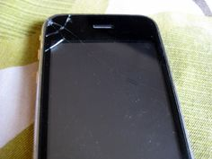 How to Replace a Broken/ Cracked iPhone Screen - for about $10.00.  DIY tutorial in video and pictures.