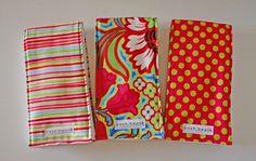Modern Boutique Burp Cloth - Set of 3