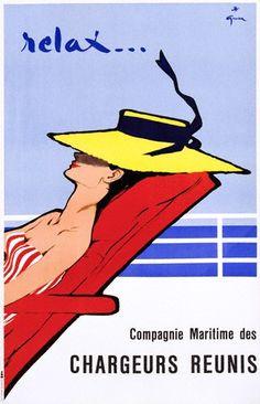René Gruau, Travel Poster