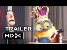nice Minions Official Trailer - Despicable Me Prequel HD Despicable Minions, Minion Movie, Minion Party, New Trailers, Movie Trailers, Minions Trailer, Jennifer Lawrence Movies, New Movies Coming Soon, Hot Trailer