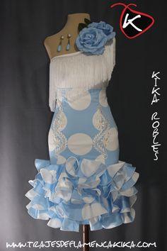 TRAJES DE FLAMENCA KIKA: Faldas y Camisas Moda Vintage, Fashion Story, Dance Dresses, Stylists, Ballet Skirt, Glamour, Plus Size, Gowns, Couture