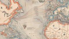 La carte des 299 cables sous-marins qui transportent 99% des données Internet mondiales : http://www.vox.com/2015/3/13/8204655/submarine-cables-internet…