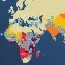 2012 Hunger Map Infographic