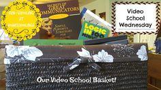 Fun Schooling: Video School Wednesday