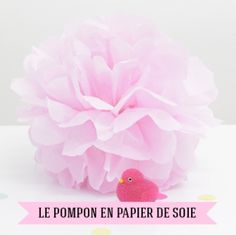 pompons en papier de soie d 233 co lions on
