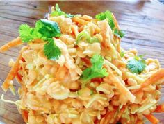 Raw Vegan Coconut & Lentil Dahl Salad by RawFoodforLife.org
