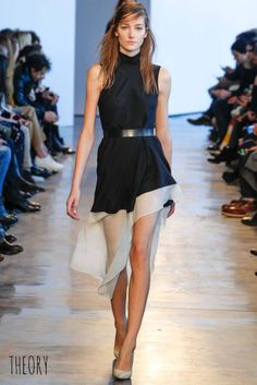 Theory Runway Fall 2014 Ready-to-Wear Collection