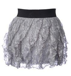 I <3 lace on skirts