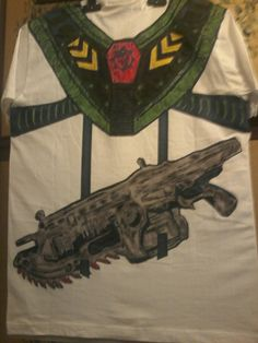 maglia dietro gears of war