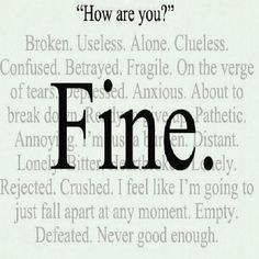 Quotes About Depression (Depressing Quotes) 0078 10