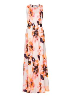 MANGO - Floral print gown