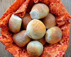 French Bread Dinner Rolls recipe from scratch.