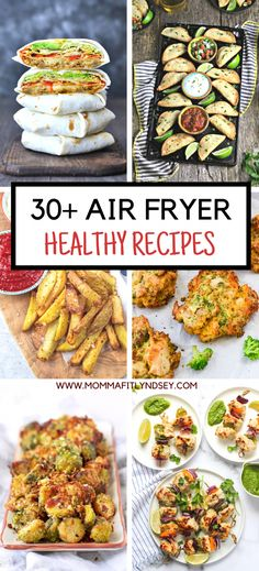 Over 30 Healthy Air Fryer Recipes including air fryer vegetable recipes, air fryer chicken recipes, air fryer fish recipes and more! Healthy Air Fryer Recipes for Your Family - Momma Fit Lyndsey Life Currents lifecurrents Healthy Living Over 30 Hea Air Fryer Recipes Cookbook, Air Fryer Fish Recipes, Air Frier Recipes, Air Fryer Dinner Recipes, Cooking Recipes, Healthy Recipes, Keto Recipes, Air Fried Vegetable Recipes, Air Fryer Recipes Vegetables