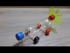 How to make a Balloon powered car very simple - Easy balloon Jet car Tutorials - YouTube