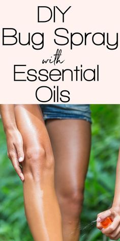 A simple, homemade bug spray recipe made with essential oils that actually works. You won't want to be without your DIY bug spray this summer! Clove Essential Oil, Doterra Essential Oils, Essential Oil Blends, Homemade Bug Spray, Bug Spray Recipe, Natural Bug Spray, Natural Beauty Recipes, Wellness Tips, Super Easy