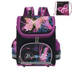 c7330d7f318 JASMINESTAR Children School Bag Winx Monster High Butterfly Girls Primary  Backpack Student Orthopedic Cartoon School Bags