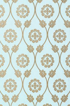 Kawazu, Aqua, Collection Shangri-La from Thibaut Love Wallpaper, Fabric Wallpaper, Pattern Wallpaper, Iphone Wallpaper, Textile Prints, Textile Design, Fabric Design, Pattern Design, Hand Embroidery Patterns