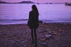 Violet Ell - Dr. Martens Boots, Saint Laurent Jacket, Backpack - --