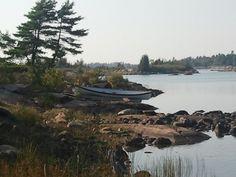 Georgian Bay, Ontario, Canada Georgian, Ontario, Canada, River, Mountains, Nature, Outdoor, Georgian Language, Naturaleza