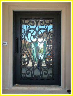 Screen Door Iron interior-#Screen #Door #Iron #interior Please Click Link To Find More Reference,,, ENJOY!! Wrought Iron Security Doors, Wrought Iron Doors, Exterior Doors, Entry Doors, Garage Doors, Door Grill, Iron Front Door, Window Bars, Porche
