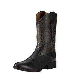 Ariat Men's Black Heritage Hickok Western Boot