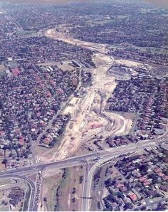 Monash Fwy 1985 , Warrigal Rd Melbourne Victoria, Victoria Australia, Places In Melbourne, The 'burbs, Historic Houses, Historical Images, Local History, Melbourne Australia, Landscape Photos