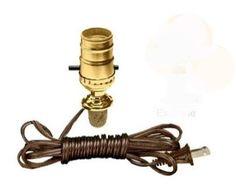 cork stopper lamp kit (to turn wine bottles into lamps) $12.00 for 2