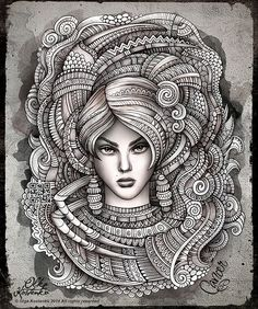 Zodiac ~ Cancer by Olka Kostenko on Behance