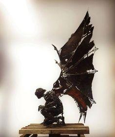 """steampunktendencies: """" Sculpture by Flavio Zarck """""""