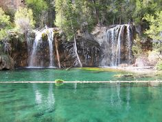 Hanging Lake, Glenwood, CO. I've hiked up to this beautiful place. It is gorgeous and otherworldly.