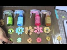 QUICK HOW-TO VIDEO (altered Canvas Bag) featuring NEW Prima Color Bloom Sprays