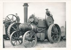 Steam Tractor Engine Photo Margaret | eBay