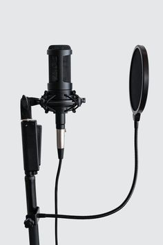 Professional condenser microphone with a pop filter in a studio   premium image by rawpixel.com / Teddy Rawpixel Home Recording Studio Setup, Recording Studio Microphone, Best Studio Microphone, Microphone Drawing, Camera Mic, Music Studio Room, Dream Music, Music Wallpaper, Filters