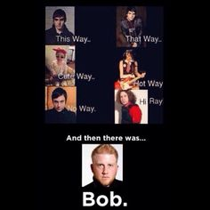 And then there was Bob. My Chemical Romance.