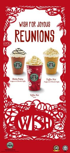 STARBUCKS Christmas Campaign 2009