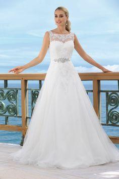 Ladybird bruidsjurk 34011 collectie 2014 – wedding dress - Xsasa bruidsmode