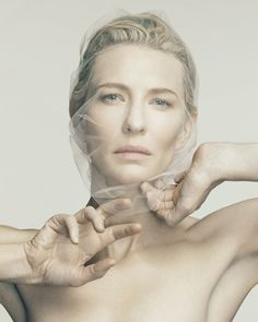 ☫ A Veiled Tale ☫ wedding, artistic and couture veil inspiration - Cate Blanchett