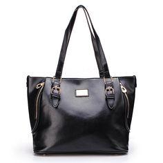 Sale 26% (22.96$) - Fashion Women OL Casual Simple Large Shoulder Handbag Cross Body Bag