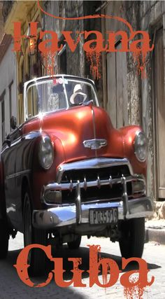 Explore Havana Cuba With The Divergent Travelers. Explore Havana (La Havana) Cuba with the Divergent Travelers. Jump on in to an old 1950's classic car with Lina and David Stock of the Divergent Travelers and explore the whole city of Havana Cuba. See the Video at https://youtu.be/ymvovbHyjXU