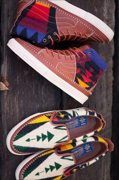 Taka Hayashi x Pendleton x Vans Pack - Fall 2010