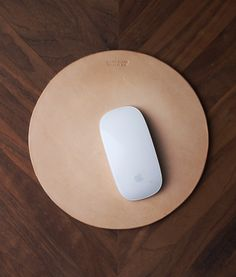 • I really do need a mousepad for my desk at home. This leather one is super cool.