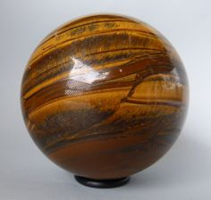Actualmente en las subastas de #Catawiki: Esfera ojo de tigre - 10 cm - 1,350 kg