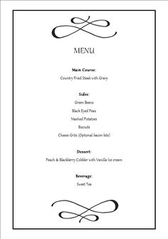 fancy dinner menu template - 1000 images about catering foods on pinterest dinner