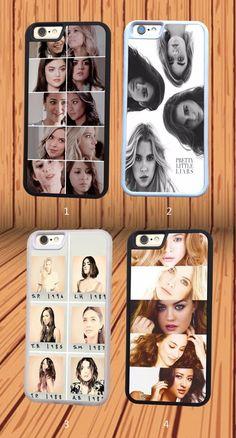 Pretty Little Liars for iPhone 4/4S 5C 5/5S/SE 6/6S 6 Plus/6S Plus Silicone Case #NONGCHAO