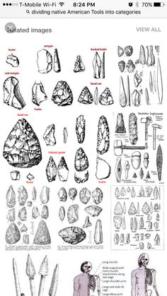 Native American History, Native American Tools, Native American Beauty, Native American Artifacts, Native American Indians, Indian Artifacts, Ancient Artifacts, Stone Age Tools, Historical Artifacts