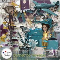 Carnet de voyage by Pat's Scrap