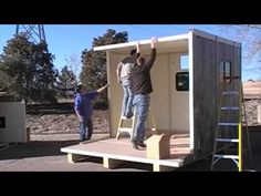 Mobility and Easy Assembly   Rigid Tent Systems